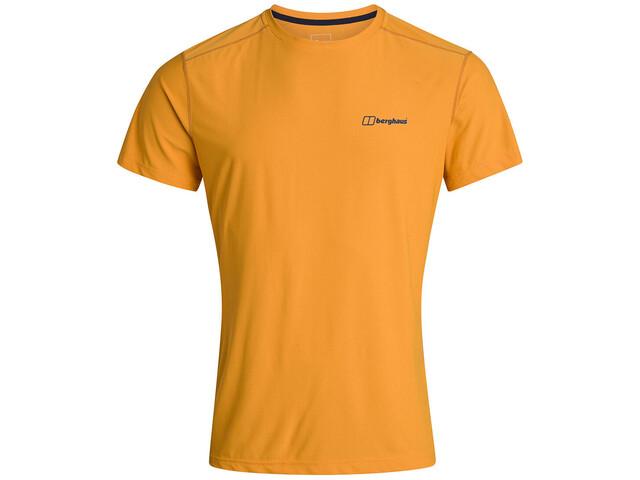 Berghaus 24/7 Tech Camiseta Manga Corta Cuello Redondo Hombre, sunflower